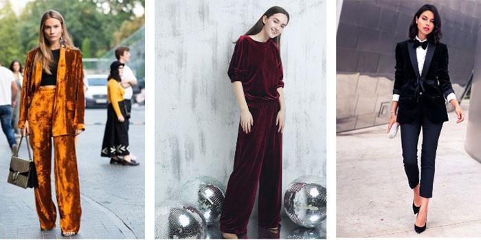Бархатный пиджак осенью: как правильно носить и с чем сочетать?