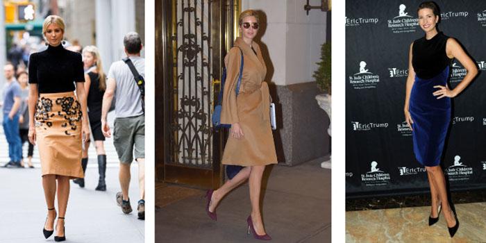 Как одеться в офис. Базовый гардероб деловой женщины на примере Иванки Трамп