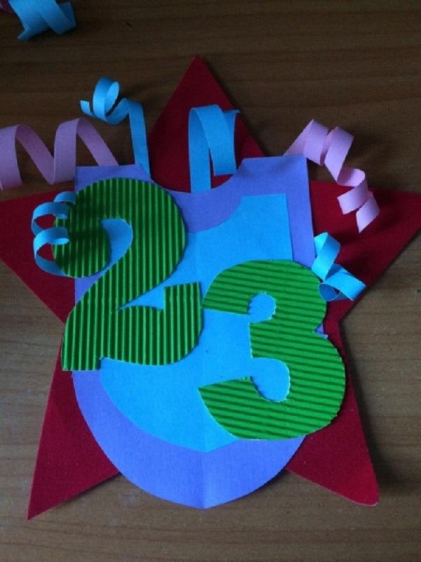 Открытка из цветной бумаги своими руками папе, смешной валентинки картинки