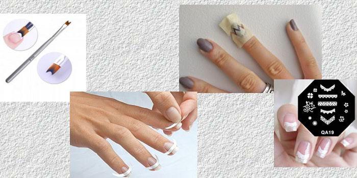 5 интересных способов сделать французский маникюр на короткие ногти
