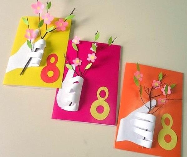 Картинки мальчику, изготовление открыток своими руками к 8 марта