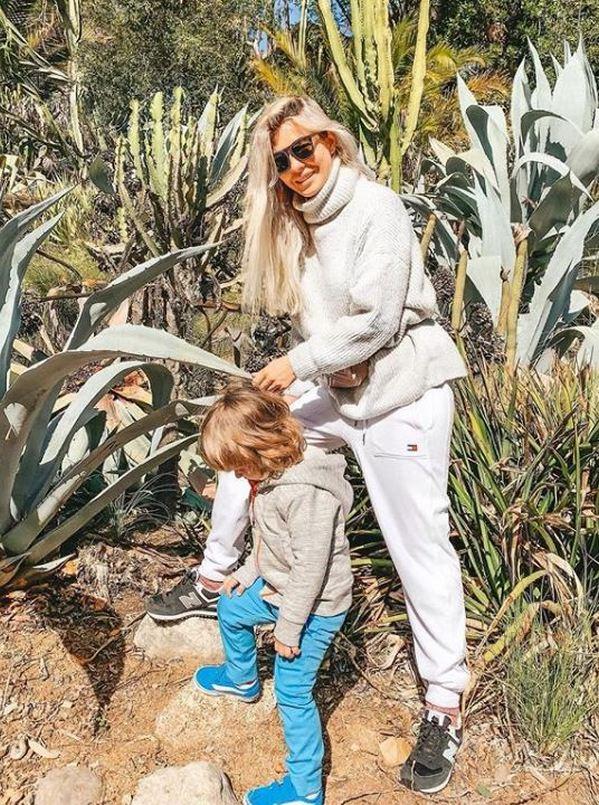 Наталья Бардо впервые показала сына, которого прятала 2,5 года