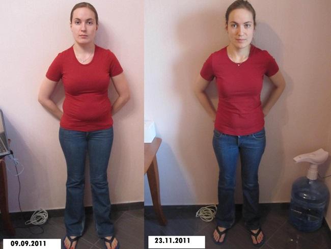 Результаты похудения и способ