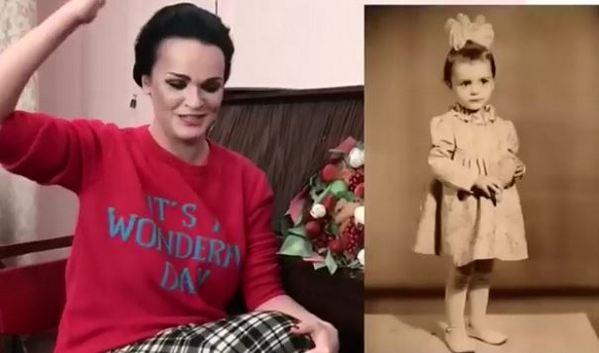 Совсем не изменилась: певица Слава разместила в Instagram детское фото, на котором её сразу узнали поклонники