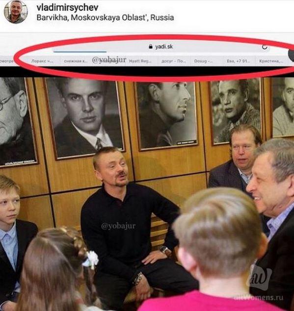 Владимир Сычёв опозорился: актёр опубликовал и сразу удалил неожиданное фото с Борисом Грачевским