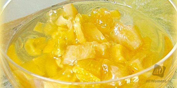 Варенье из кабачков с лимоном и/или апельсином, с яблоками: рецепты са
