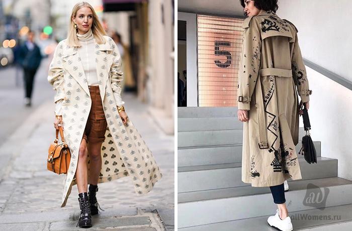 Тренд сезона: какие тренчи будут носить модницы весной-летом 2020