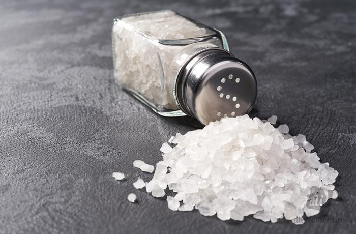 Зачем добавлять соль в шампунь для волос?