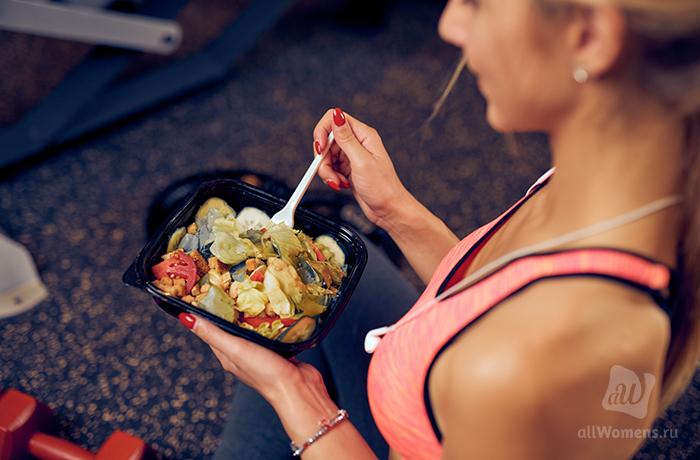 6 простых правил спортивной диеты для худеющих