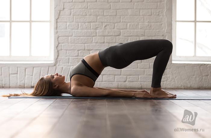Ягодичный мостик — лучшее упражнение для красивой попы