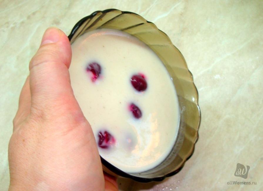 Десерт из ряженки, который не повлияет на фигуру