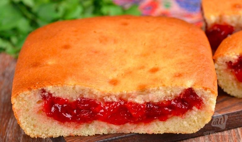 Как приготовить пирог, чтобы начинка в жидком тесте не опустилось на дно